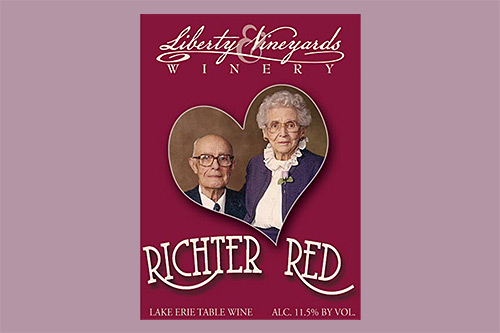 Herbert and Beulah Richter on our Richter Red label