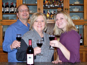 Owners Gary and Pam Burmaster, with daughter Beth Margolis, Marketing Manager