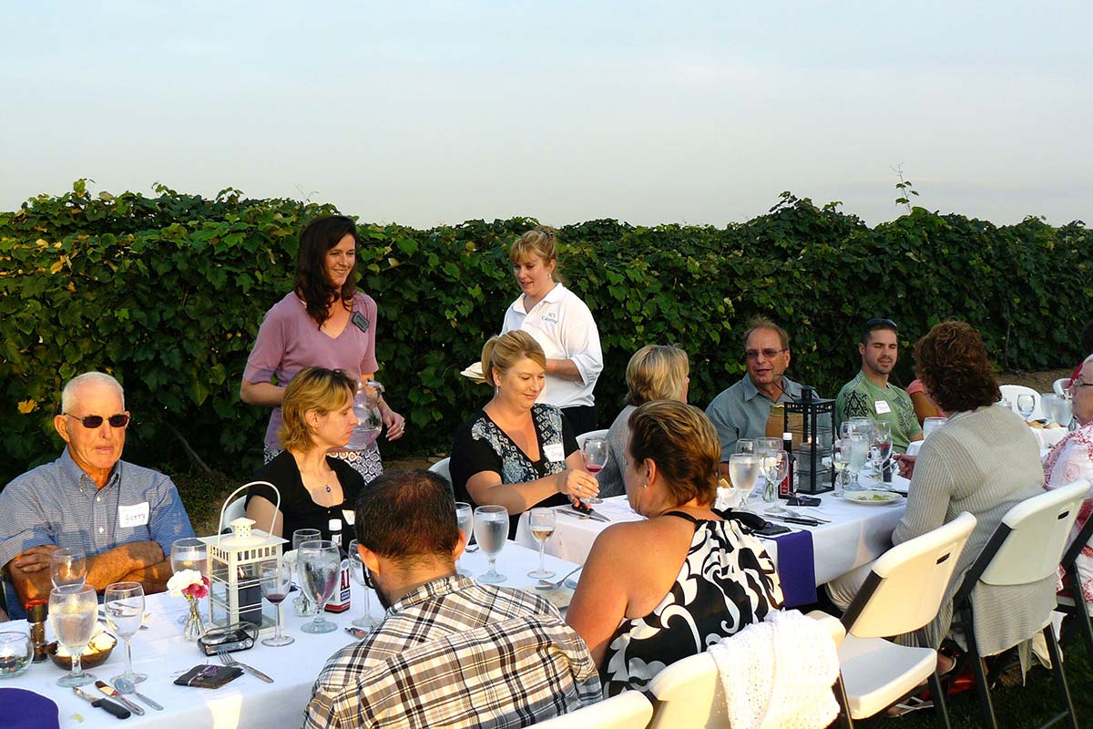 Liberty Vineyards & Winery - Dine in the Vines